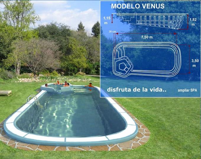 Modelos piscinas for Modelos de piscinas caseras